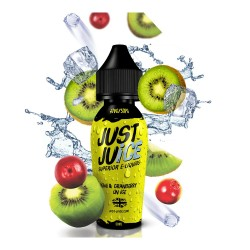 JUST JUICE KIWI & CRANBERRY ON ICE 50ML