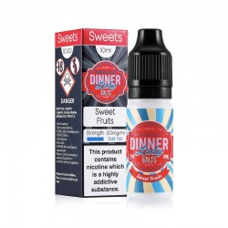 SWEET FRUITS NIC SALT DINNER LADY 10ML 20MG