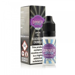 BLACKBERRY CRUMBLE NIC SALT DINNER LADY 10ML 20MG
