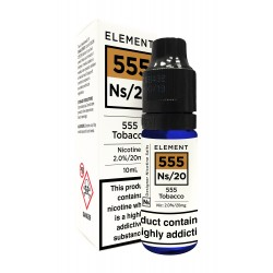 555 TOBACCO ELEMENT NIC SALTS 10ML 20MG