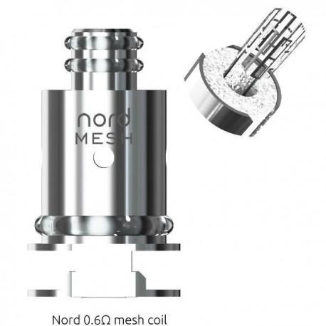 1 X MESH COIL NORD SMOK 0.6 Ohm