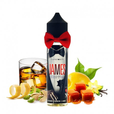 JAMES SWOKE E-LIQUIDS 50ML 0MG