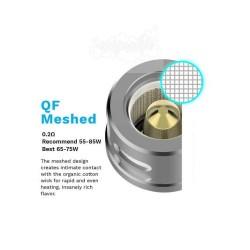 VAPORESSO QF-MESHED CORE 0.20OHM SKRR COIL