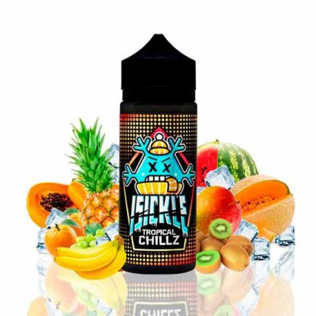 ISICKLE TROPICAL CHILLZ TPD 100ML 0 MG
