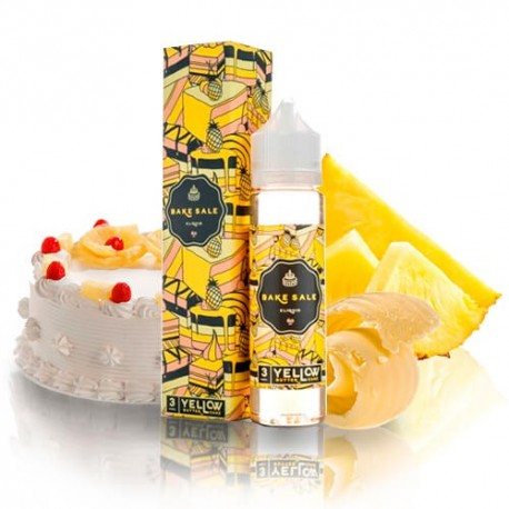 Charlies Chalk Dust Bake Sale Yellow Butter Cake
