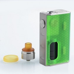 WISMEC Luxotic BF Kit Con Tobhino RDA GREEN HONEYCOMB