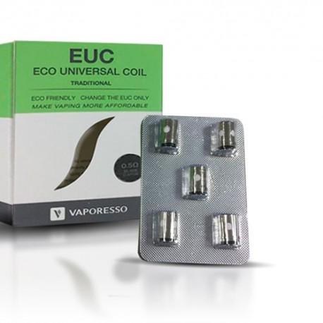 Resistencia Cerámica Vaporesso EUC x 5 unidades 0,5Ω