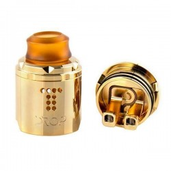 Drop Solo RDA Single Coil 22mm /BF Gold