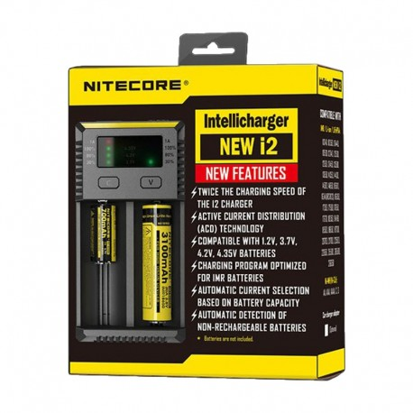 Cargador Nitecore Intellicharger i2